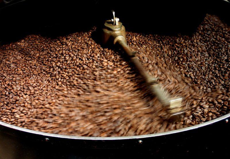 Bild Kaffee rösten