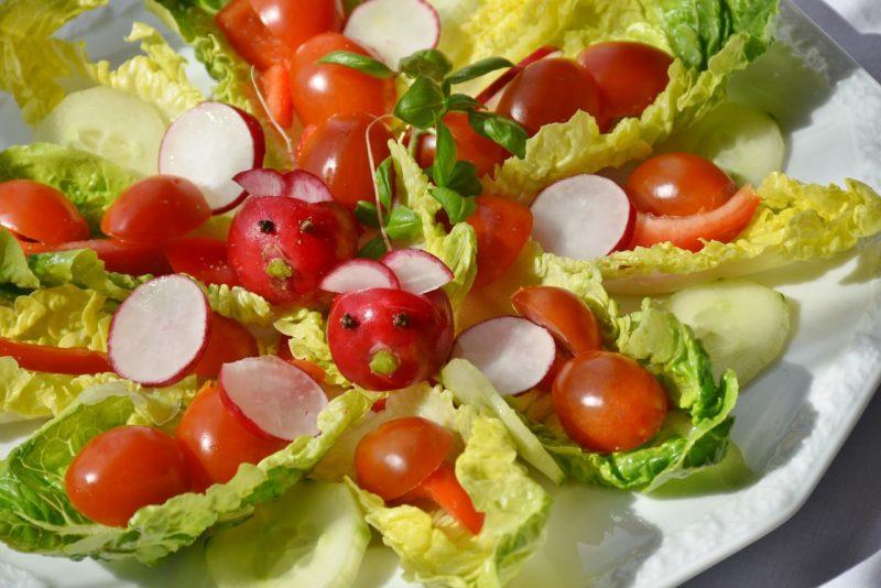 Bild Romana Salat Teller