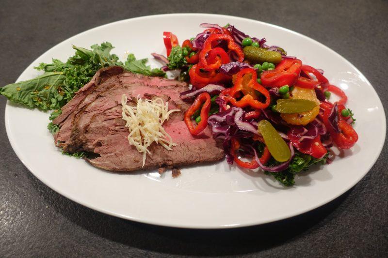 Bild Rindfleisch mit Meerretich