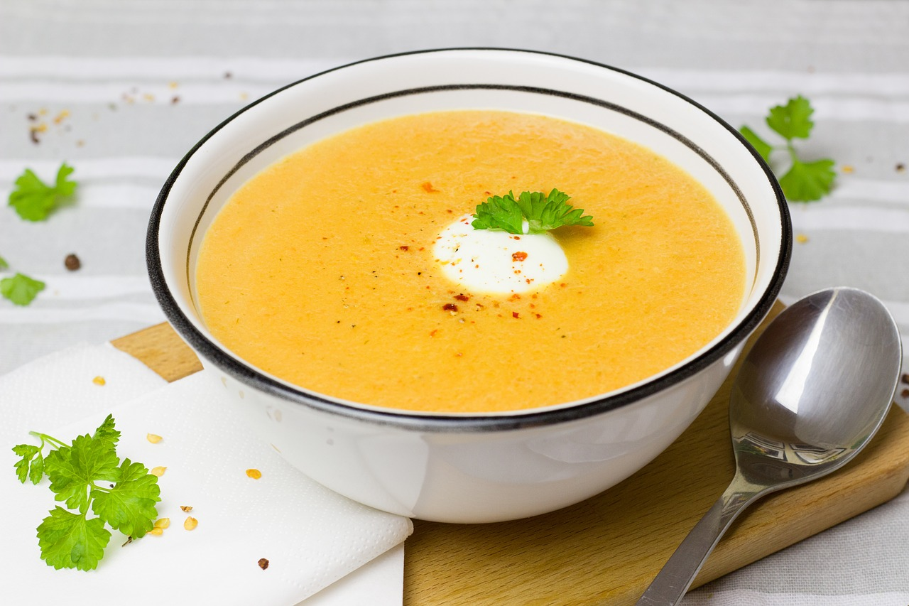 Bild Karotten Ingwer Suppe