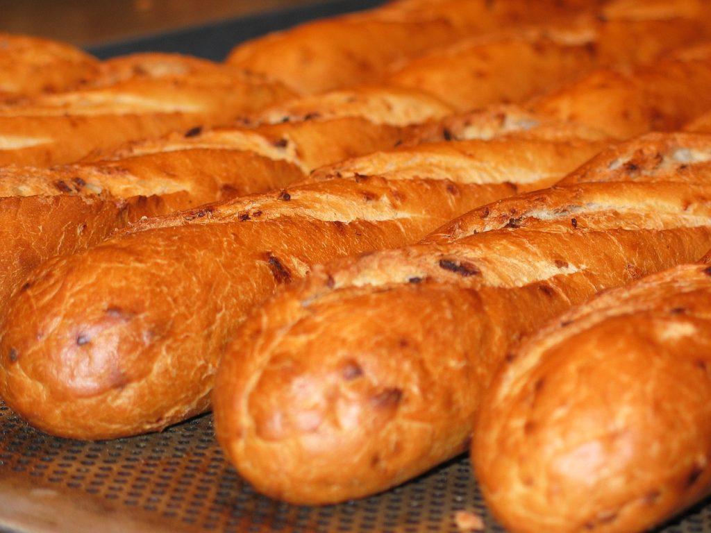 Bild frische Baguettes