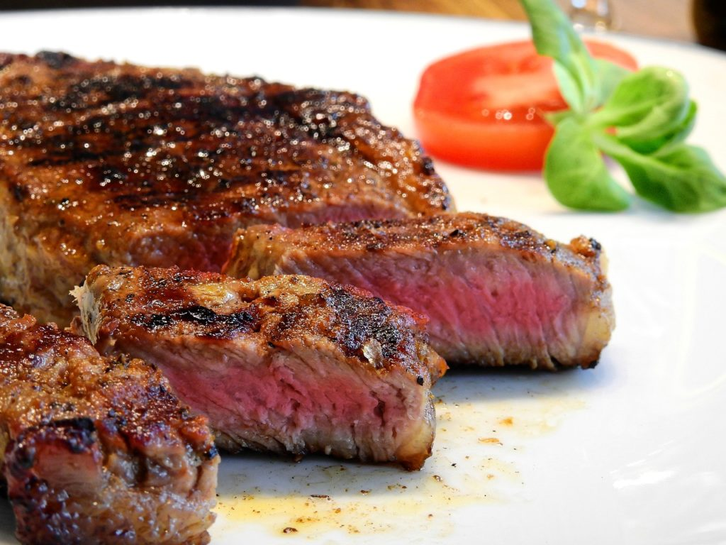 Bild gegrilltes Steak