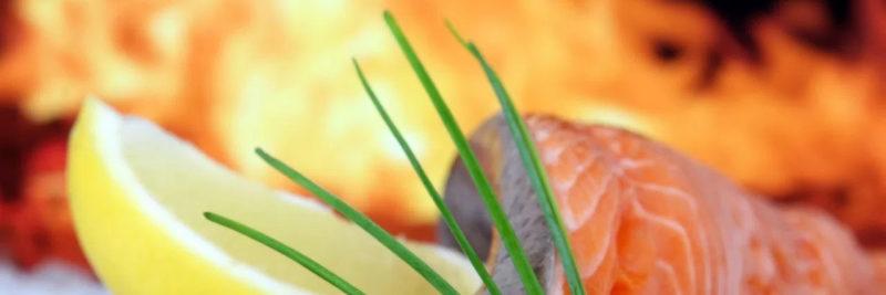 Bild Lachs grillen
